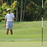 粘ったもののわずかに予選通過に届かなかった 2018年 アジアパシフィックアマチュアゴルフ選手権 2日目 大西魁斗