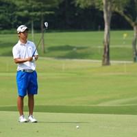 2日目は失速気味。それでも予選通過を決めた 2018年 アジアパシフィックアマチュアゴルフ選手権 2日目 呉司聡