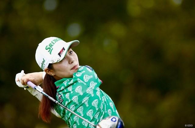 2018年 スタンレーレディスゴルフトーナメント 2日目 新垣比菜 新垣比菜が首位タイで最終日を迎える