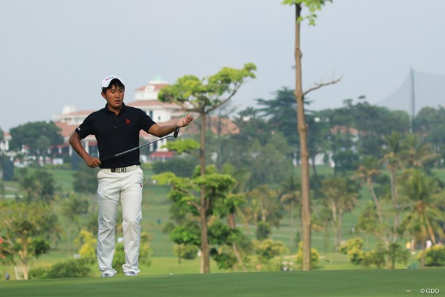 2018年 アジアパシフィックアマチュアゴルフ選手権 金谷拓実 3日目に「64」を出して2打差の3位に浮上した金谷拓実