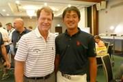 2018年 アジアパシフィックアマチュアゴルフ選手権 3日目 トム・ワトソン&金谷拓実