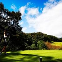 東名カントリークラブ 12H 2018年 スタンレーレディスゴルフトーナメント 2日目 松森彩夏