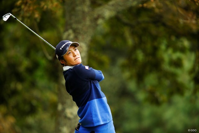 米ツアー予選会に出場する渡邉彩香。五輪へ望みをつなぐために決意した