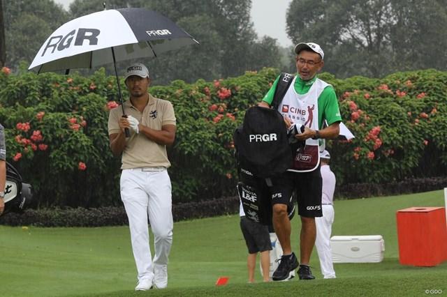 PGAツアー2季目の小平智(左)はマレーシアで上位を目指す