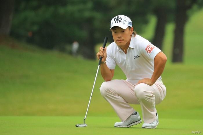 藤本佳則が6アンダーで初日を終えた 2018年 日本オープンゴルフ選手権競技 初日 藤本佳則