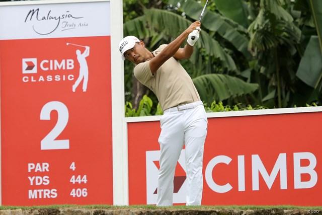 PGAツアーの2シーズン目を迎えた小平智。初日は1アンダー