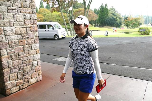 比嘉真美子は2試合ぶりに国内ツアーに出場する