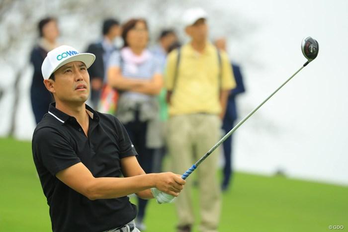 ノーボギーのナイスラウンドで65をマーク! 2018年 日本オープンゴルフ選手権競技 初日 デビッド・オー