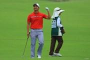 2018年 日本オープンゴルフ選手権競技 初日 嘉数光倫