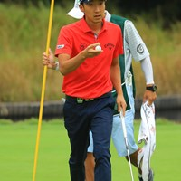 14番ではナイスイーグル!11位タイスタート! 2018年 日本オープンゴルフ選手権競技 初日 重永亜斗夢