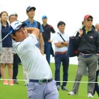アルバトロス達成おめでとう! 2018年 日本オープンゴルフ選手権競技 初日 杉山知靖
