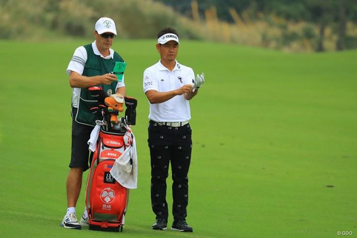 ショットも絶好調!藤田さんが調子良いとこちらも気分が乗ってきますね。 2018年 日本オープンゴルフ選手権競技 初日 藤田寛之