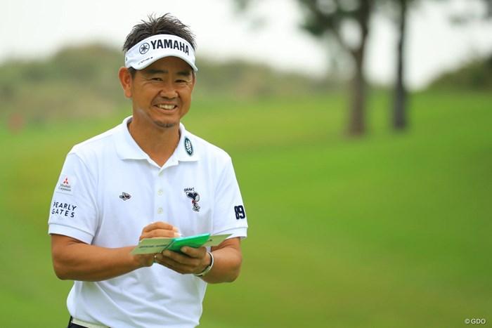 ナイスラウンドにナイススマイル! 2018年 日本オープンゴルフ選手権競技 初日 藤田寛之