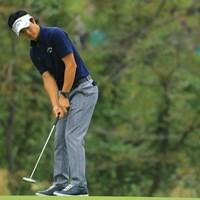 センターシャフトピン型パターを投入した石川遼 2018年 日本オープンゴルフ選手権競技 初日 石川遼