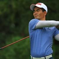 7年ぶりに今週から新1Wを握っている梁津萬 2018年 日本オープンゴルフ選手権競技 2日目 梁津萬