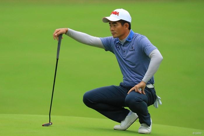 ほら、やっぱりリャンさんが来るよなぁ。 2018年 日本オープンゴルフ選手権競技 2日目 梁津萬