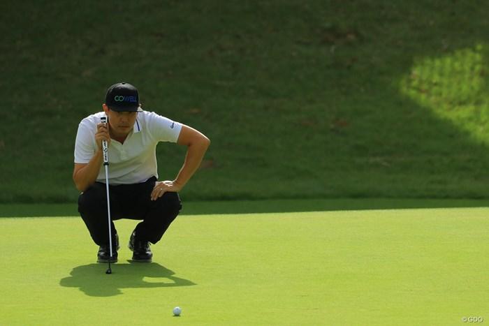 首位とは2打差の単独6位で決勝ラウンドへ。 2018年 日本オープンゴルフ選手権競技 2日目 デビッド・オー