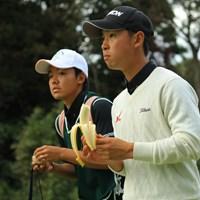 バナナ、美味いぜっ! 2018年 日本オープンゴルフ選手権競技 2日目 桂川有人