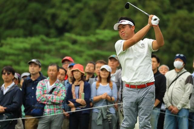 前年覇者の池田勇太は11オーバー113位で予選落となった