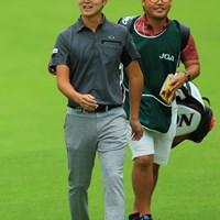 イケメンは撮ってて気持ち良いねぇ。 2018年 日本オープンゴルフ選手権競技 3日目 大堀裕次郎