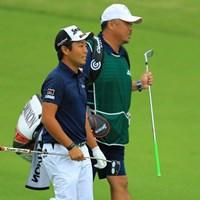 単独首位に立った稲森佑貴。「日本オープン」でツアー初優勝となれば2009年の小田龍一以来8人目となる 2018年 日本オープンゴルフ選手権競技 3日目 稲森佑貴