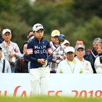 安田祐香がアマチュア最多タイの10試合連続で予選を突破した 2018年 富士通レディース 2日目 安田祐香