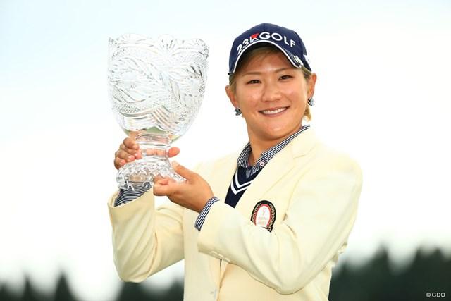 成田美寿々が今季3勝目を遂げた