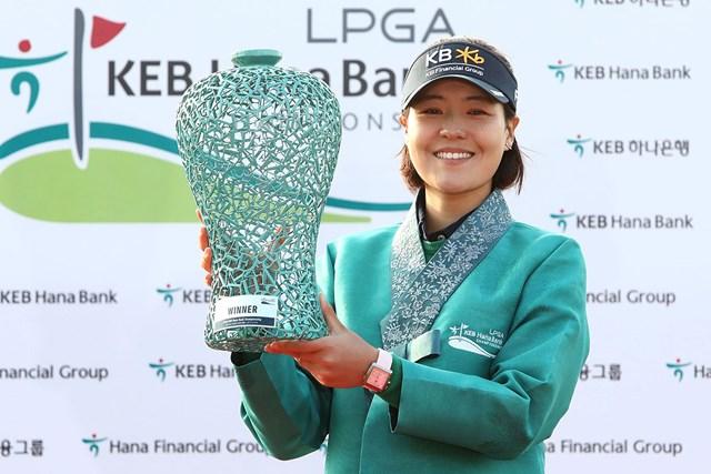 チョン・インジがツアー3勝目を地元・韓国で飾った(Chung Sung-Jun/Getty Images)