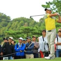 最終日最終組だったがチャンスを生かせず。 2018年 日本オープンゴルフ選手権競技 最終日 竹安俊也