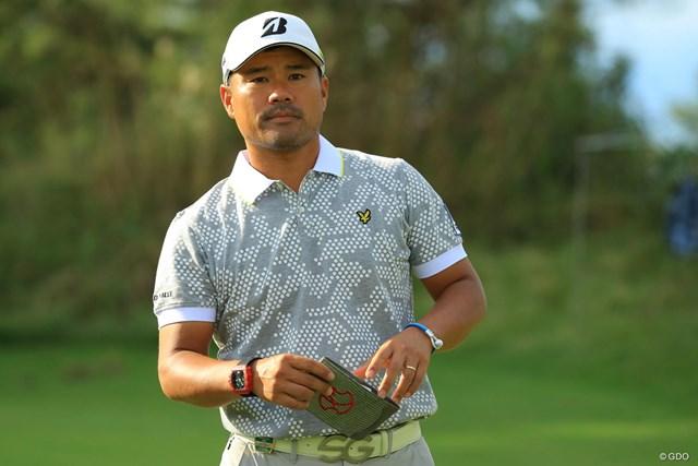 前年覇者として「ゴルフ日本シリーズJTカップ」に出場する宮里優作 ※撮影は2018年「日本オープン」