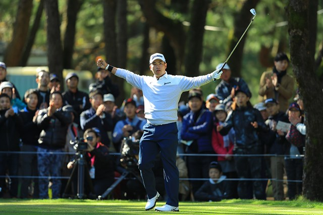 松山英樹が11月の「ダンロップフェニックストーナメント」出場を表明した(※大会提供)