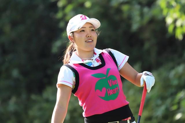 アマチュアの古江彩佳が首位タイで発進した(提供:日本女子プロゴルフ協会)