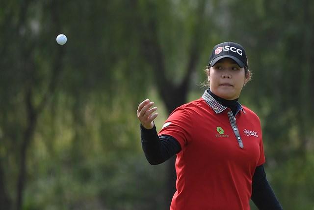 アリヤ・ジュタヌガンが単独首位で初日を終えた(Zhe Ji/Getty Images)