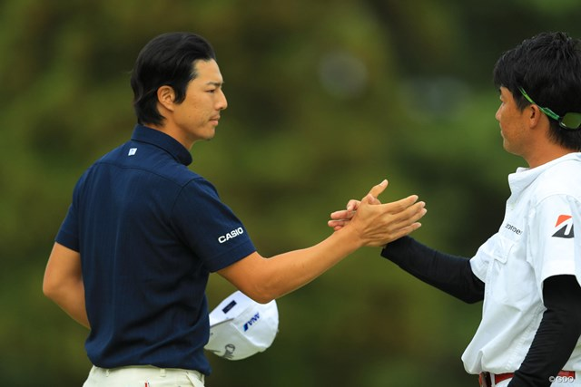 2018年 ブリヂストンオープンゴルフトーナメント 初日 石川遼 明日につながる、最終ホールナイスバーディ。