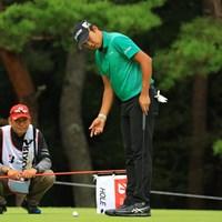 23位タイに後退してしまった。 2018年 ブリヂストンオープンゴルフトーナメント 2日目 出水田大二郎