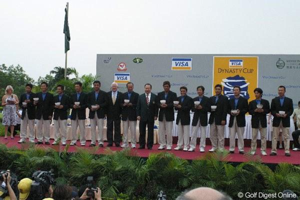 日本チーム惨敗。大差でアジアチームが優勝!