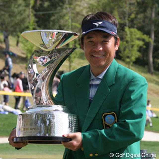 2005年 つるやオープンゴルフトーナメント 最終日 尾崎直道 尾崎直道がP.シーハンに競り勝ち1年半ぶりの勝利
