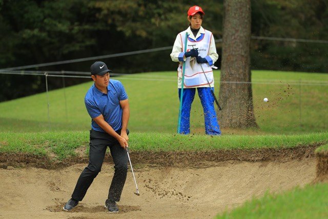 2018年 ブリヂストンオープンゴルフトーナメント 2日目 薗田峻輔 薗田峻輔は今季初めての予選通過