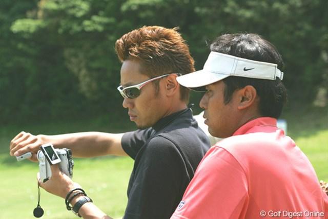 2005年 日本プロゴルフ選手権大会 事前 片山晋呉 国内メジャー初戦に向けて調整を図る片山晋呉