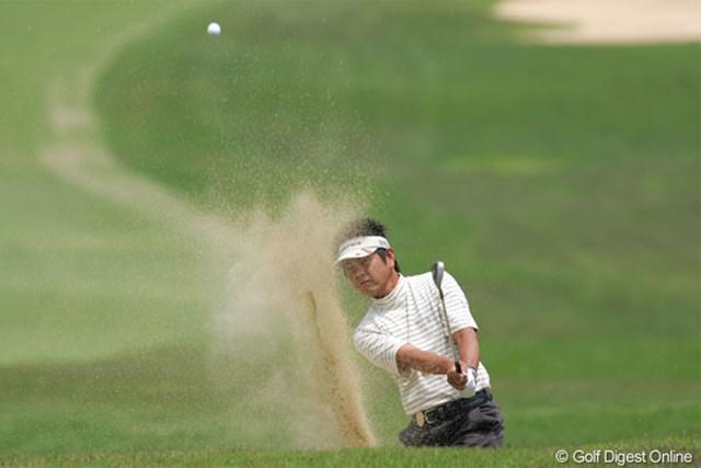 2005年 日本プロゴルフ選手権大会 初日 藤田寛 7バーディを奪い単独首位スタートをきった藤田寛