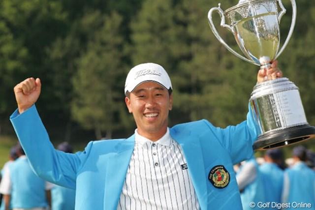 2005年 日本プロゴルフ選手権大会 最終日 S.K.ホ 最後まで安定感を保ったS.K.ホが大会連覇を果たした。