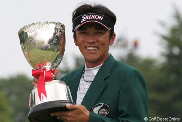 最後まで果敢に攻めた広田悟が、嬉しいツアー初優勝を飾った。