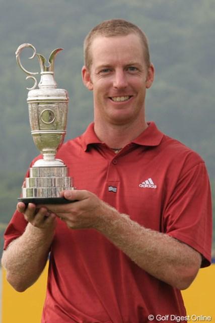 2005年 ~全英への道~ ミズノオープン 最終日 クリス・キャンベル バンカーから見事なリカバリーショットを見せ初優勝を飾ったクリス・キャンベル