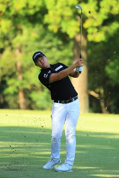 前半は優勝争いも、後半は息切れ。 2018年 ブリヂストンオープンゴルフトーナメント 最終日 イ・サンヒ
