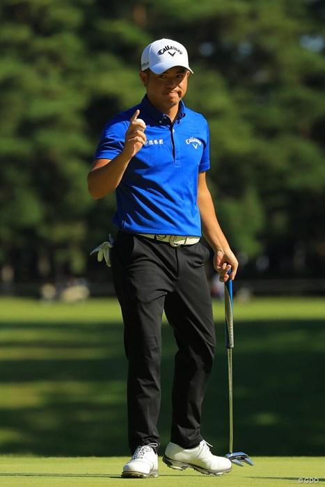 怒涛の追い上げで単独3位フィニッシュです。 2018年 ブリヂストンオープンゴルフトーナメント 最終日 セン世昌