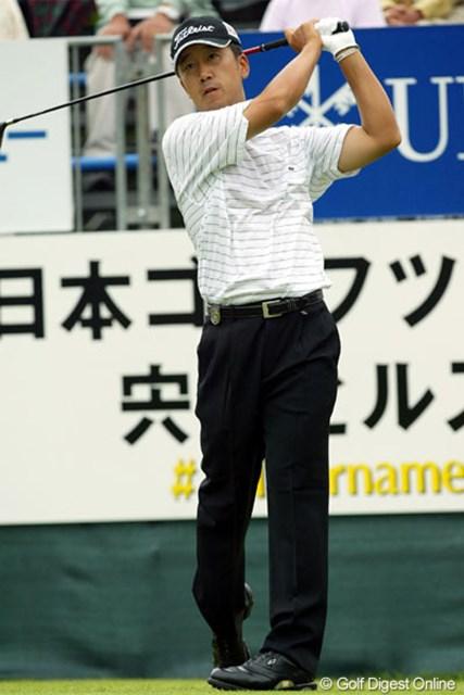 2005年 日本ゴルフツアー選手権 宍戸ヒルズカップ 初日 S.K.ホ 大会連覇に向け絶好のスタートを切ったS.K.ホ