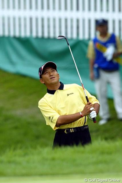 2005年 日本ゴルフツアー選手権 宍戸ヒルズカップ 3日目 細川和彦 アグレッシブなゴルフを展開して2位に浮上した細川和彦