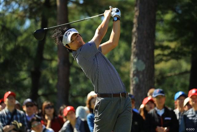 2018年 ブリヂストンオープンゴルフトーナメント 最終日 石川遼 4位で最終日を終えた石川遼