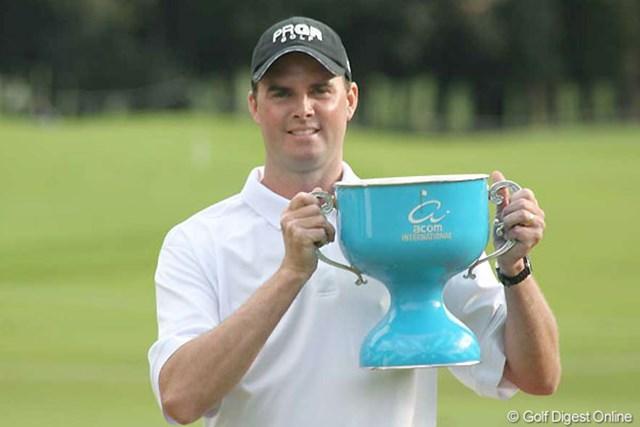 初日から首位を守り、完全優勝を達成したデビッド・スメイル