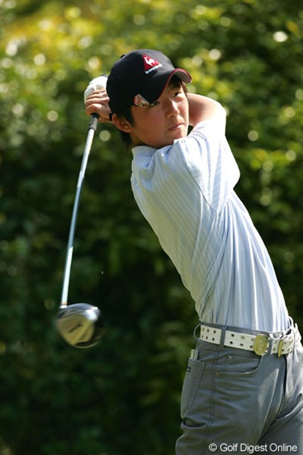 この日のベストスコア「66」をマークし、4位タイに浮上したアマ伊藤涼太(写真は中日クラウンズ時のもの)
